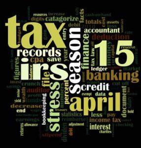 IRS tax filing brackets