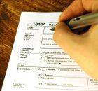 IRS tax form 1040a