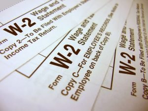 when do w2 tax forms come out