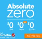 Absolute Zero Tax Filing