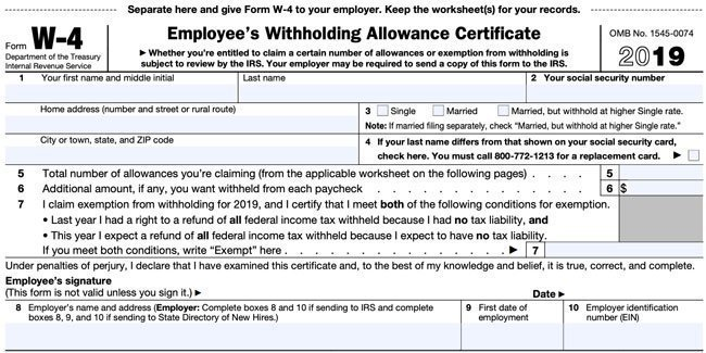 have you checked your w4 tax withholding yet   2019  2020
