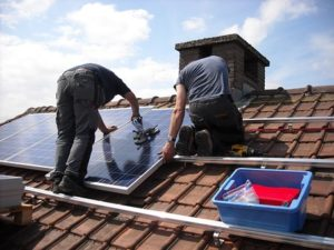 How to get a 30% solar tax credit when you install new solar panels on your house.